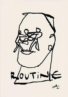 Routine (2012) by Iker Garcia Barrenetxea. W.L.S.E.R. - Western LifeStyle Everyday Recipe Exhibition.