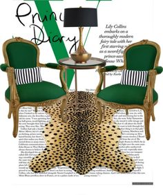 """""""Kelly Green and Leopard"""" by foreverlovelydesign on Polyvore"""