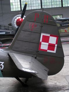 The PZL was a Polish fighter aircraft, designed and constructed during the early by Warsaw-based aircraft manufacturer PZL - English Metal Structure, Fighter Aircraft, World War Two, Wwii, English, Air Force, Gull, Scale, Wings