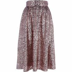 Pink #sequin midi skirt by: River Island @Karla Pruitt Bender Island #christmas #outfit