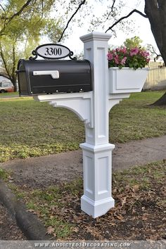 fixing up a small yard in the spring | And finally, I added this mailbox , this house number plaque , and ...