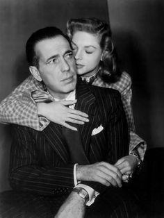 Humphrey Bogart, Lauren Bacall; publicity still for Delmer Daves' Dark Passage (1947)