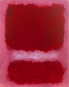 Mark Rothko, Untitled, 1968 © Kate Rothko Prizel & Christopher Rothko / Artists Rights Society Mark Rothko Paintings, Rothko Art, Tachisme, Pink Abstract, Abstract Art, Pink Painting, Painting Art, Colour Field, Abstract Painters