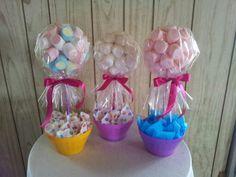 Centros de mesa. Candyland birthday