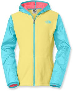 The North Face Female Glacier Track Full-Zip Hoodie - Girls'