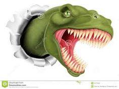 Afbeeldingsresultaat voor t rex tekening