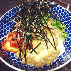 キムチオクラ納豆で(◕ฺω◕ฺ)サイコーです… - 12件のもぐもぐ - キムチオクラ納豆やっこ by saayuone