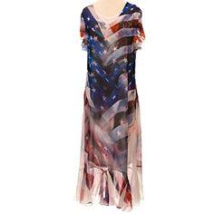 Flag Print Sheer Dress http://shop.crackerbarrel.com/Flag-Print-Sheer-Dress/dp/B00UKEGYRO