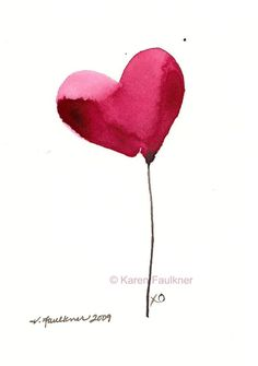 1000 Ideas About Watercolor Heart On Pinterest Jim Dine