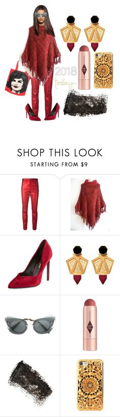 """""""2018 Today"""" by michelle858 ❤ liked on Polyvore featuring Étoile Isabel Marant, Andy Warhol, Miu Miu, Charlotte Tilbury and W3LL People"""
