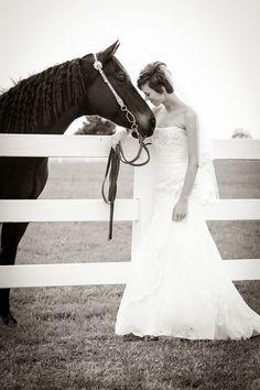 Black and white bridal picture :) favorite!!!