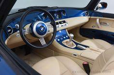 2003 BMW Z8 interior