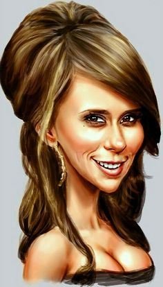 Jennifer Love Hewitt Caricature....