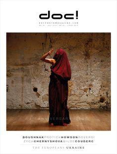doc! photo magazine #25 - cover Cover photo: Laura Boushnak