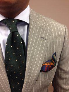 Dots × Stripes × Patterns mens fashion