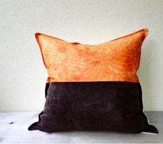 Add a splash of color to your home with this beautiful pillow cover. Bright fresh color combination would make this pillow a great addition to