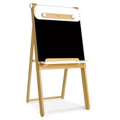 Smart Childrens Easel, Chalkboard, Whiteboard, Puppet Theater - Pkolino Multi-Use Art Easel - PKFFAEWT