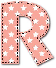 R MAYÚSCULA Alphabet Style, Alphabet Print, Monogram Alphabet, Alphabet And Numbers, Abc Font, Study Flashcards, Alphabet Pictures, Letter Symbols, Classroom Labels