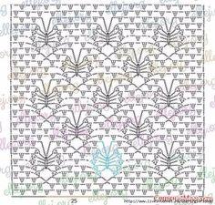 Fabulous Crochet a Little Black Crochet Dress Ideas. Georgeous Crochet a Little Black Crochet Dress Ideas. Crochet Stitches Chart, Crochet Motifs, Crochet Diagram, Filet Crochet, Easy Crochet, Crochet Lace, Fabric Patterns, Stitch Patterns, Knitting Patterns