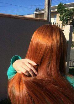Natural Red Hair, Long Red Hair, Hair Inspo, Hair Inspiration, Auburn Hair, Dye My Hair, Red Hair Color, Ginger Hair, Pretty Hairstyles