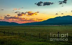 Prairie Beautiful Sunrise:   See more images at http://robert-bales.artistwebsites.com/