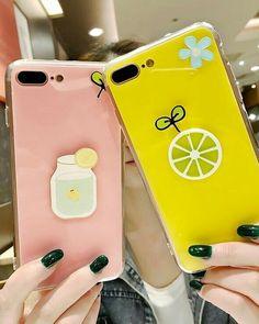 For iphone 7 plus case korean fashion glossy candy duck flow Korean Phones, Korean Phone Cases, Smartphone Iphone, Iphone Phone Cases, Iphone 6 S Plus, Cool Cases, Cute Phone Cases, Apple Iphone 6, Apple Coque