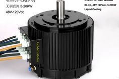 Motors without carbon brushes for electric boat Electric motorcycle Electric BLDC Motor (HPM10K).