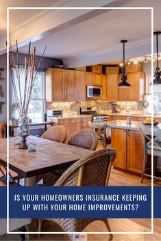 After a year of lockdowns and restrictions, many of us are tired of staring at the same four walls. If you have recently improved your home, have you also improved the insurance that protects it? Read our latest blog to learn how home improvements can impact your homeowners insurance. Home And Auto Insurance, Car Insurance, Tired, Improve Yourself, Home Improvement, Walls, Kitchen, Blog, Home Decor