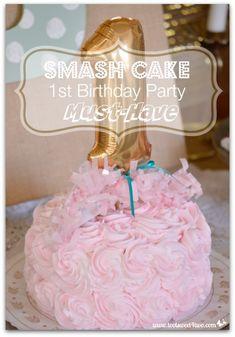 Smash Cake: 1st Birt