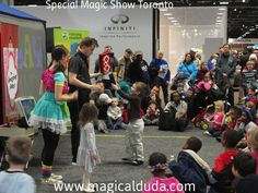 Magical Duda offers you great magician for your Special Magic Show in Toronto Like Childrens Magic Show, Family Magic Show, Magic Entertainment For Adult etc. Get more info by visiting us. http://www.magicalduda.com/news