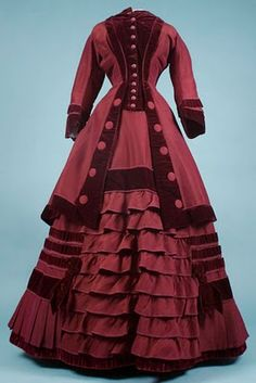 Ruffly Victorian Dress