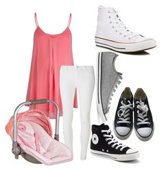 """""""Expecting Some Pink"""" by lohan-kbug on Polyvore featuring Rock-a-Bye Rosie, Converse and Dorothy Perkins"""