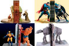 El Condensador de Fluzo » 10 sujetalibros geek que necesitas en tu librería