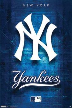 NEW YORK YANKEES LOGO POSTER Amazing RARE HOT NEW 24x36