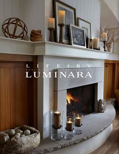 Luminara flame-effect pillars are a home decorating must-have. Let there be mood lighting and visual warmth in every room of your home.