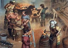 Frankish sword makers