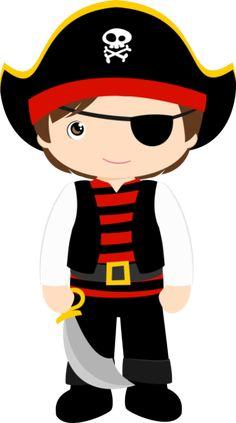 Piratas menino