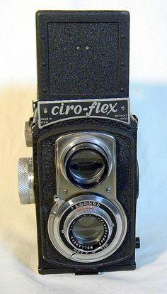 Ciiro Flex Twin Lens Reflex Camera Vintage by VintageViewfinders, $135.00