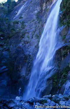 Region Del Maule, Paraiso Natural, Waterfall, Photography, Outdoor, Landscape Illustration, Scenery, Paving Stones, Naturaleza