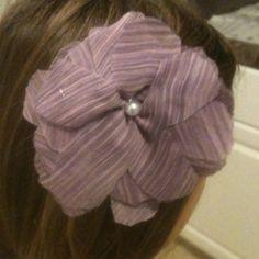 Hair flower! McCalls pattern #M6047! So easy!