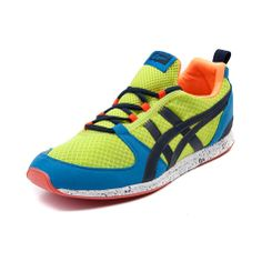 Inspired by the vintage style of the Ultimate 81 running shoe, the Onitsuka Tiger Ult-Racer trainer introduces next level cushioning and breathability. Features include a monosock upper with lightweight mesh and durable synthetic overlays, padded collar, gilly lace closure, EVA insole, Solyte midsole for heel-cushioned shock ...