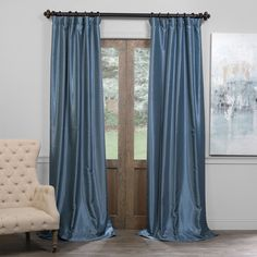 You'll love the Wadebridge Blackout Single Curtain Panel at Wayfair - Great Deals on all Décor  products with Free Shipping on most stuff, even the big stuff.