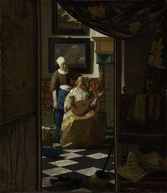 Vermeer, Johannes - The Loveletter