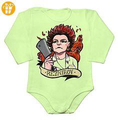 OITNB Reznikov Portrait Baby Long Sleeve Romper Bodysuit Extra Large - Baby bodys baby einteiler baby stampler (*Partner-Link)