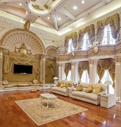Luxury Mansion Living Room : Luxury House More