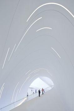 Heydar Aliyev Center. Zaha Hadid Architects #modern #architecture #masterpiece #design