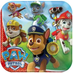 "Paw Patrol Plate 8 Pack | Toys""R""Us Australia, Official Site - Toys, Games, Outdoor Fun, Baby Products & More"
