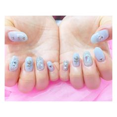 RUMI nail 🐈💓さんはInstagramを利用しています:「iceblueのkirakira💙💫 ☑️アートコース(パーツ代別途) . . ご予約は @hnh9623c からLINE💌ください🐻💓 (@からIDです💫) . #gelnail #nail #autumnail #pinknail #pink #autum…」 Kirakira, Manicures, Nail Designs, Nail Polish, Nail Art, Goals, Candy, Tattoos, Beauty