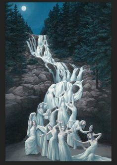 Paintings of Illusion - by Robert Gonsalves