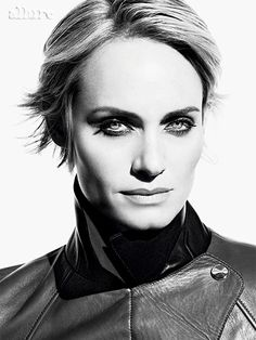After: Amber takes the big chop with short haircut. Photo: Tom Munro - June 2014 - Allure Magazine